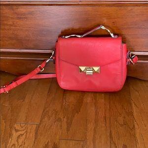 Ann Taylor Red night bag